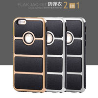 Shockproof Rubber Hybrid Case For IPhone 5 5s Se 6 6S Plus 7 Fashion Cover Back