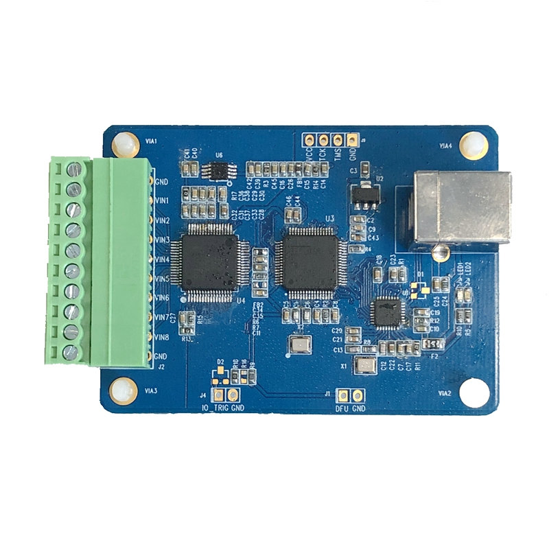 AD7606 Multichannel AD Data Acquisition Module 16 Bit ADC 8 Channel Synchronized USB High Speed Interface Control