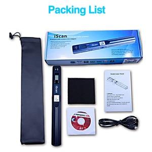Image 5 - Dijital taşınabilir iScan Mini tarayıcı 900DPI LCD ekran JPG/PDF formatı belge görüntü Iscan el tarayıcı A4 kitap tarayıcı