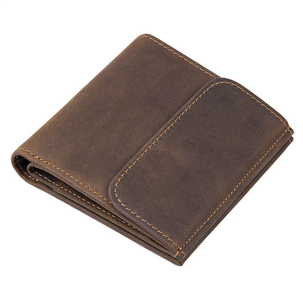 Vintage Men Genuine Leather Wallet with Coin Pocket and Photo Holder Purse Bag Short Luxury Real Leather Mens WalletVintage Men Genuine Leather Wallet with Coin Pocket and Photo Holder Purse Bag Short Luxury Real Leather Mens Wallet