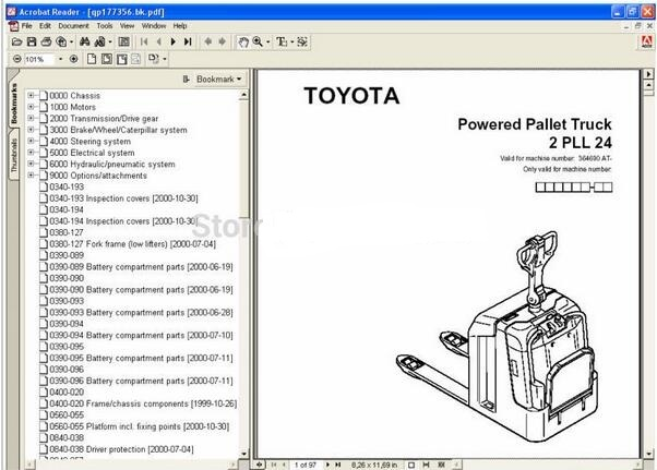 how to clear codes on toyota forklift
