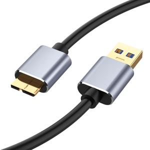Image 2 - USB 3.0สายUSBนามสกุลUSB Cabo USB 3.0 Micro Bชายสายชาร์จข้อมูลสายภายนอกสำหรับSamsung Note 3 S5