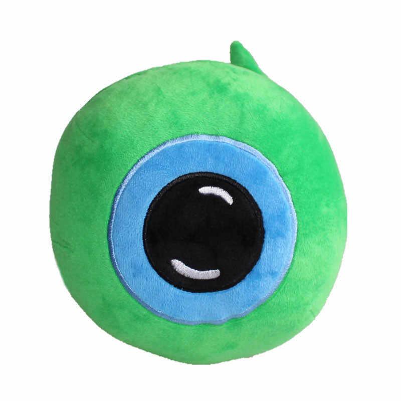 Sıcak Jacksepticeye Sam peluş oyuncak Bebek Septiceye Yeşil Göz Doldurulmuş Oyuncaklar 25cm