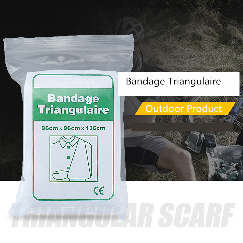 Bandage Triangular  Gauze Outdoor Travel First Aid Accessories Training Training Bandage Standing Bandage Triangle