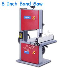 8 Inch Band Saw 220V Multifunctional Woodworking Band-Sawing Machine Solid Wood Flooring Installation Work Table Saws