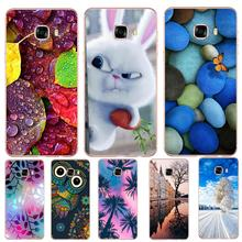 hot deal buy case for samsung galaxy s6 s7 edge s8 plus floral tpu patterned cat butterfly vintage sea flowers rabbit stones vintage floral