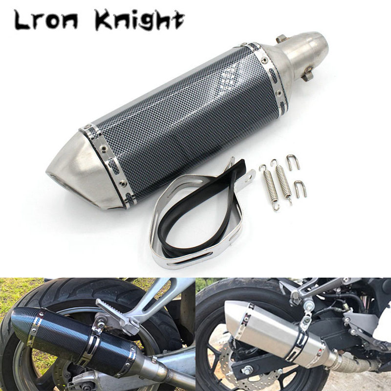 Universal For Honda CB 599 919 CB600 HORNET CBR 600 F2 F3 F4 F4i 900 400 VTR Motorcycle Modified 51mm Exhaust Pipe Muffler цены онлайн
