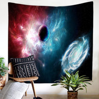 Large Size Wall Hanging Tapestry Picnic Mats Curtain Bed Sheets 13 Models Beautiful Starry sky Cosmic Moon Wall Background Decor
