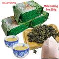 250g Taiwan high mountains Jin Xuan Milk Oolong Tea wulong milk tea green the tea with milk flavor Oolong tea bag+gift