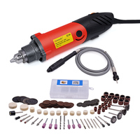 GOXAWEE 240W Electric Drill With Shaft And Power Tools Accessories Variable Speed For Dremel Mini Drill