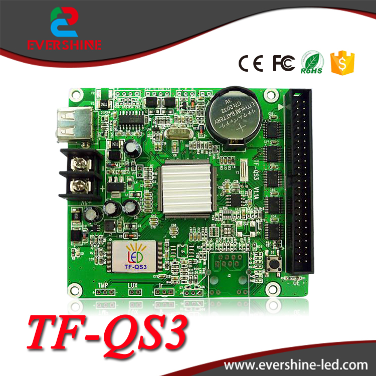 TF control card full color card TF-QS3 with 50pin interface led display screen full color 256 grayscale video card площадка vanguard qs 50