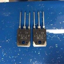 Sıcak satış 10 çift/30 çift orijinal yeni Sanken güç amplifikatörü tüp 2SA1186/2SC2837 Y/P stereo çift transistör ücretsiz kargo