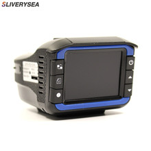 SLIVERYSEA 720P 3 in 1 Car DVR Cmera/Radar Speed Detector/GPS Track Recorder Car Detector Recorder With Russian Language Voice