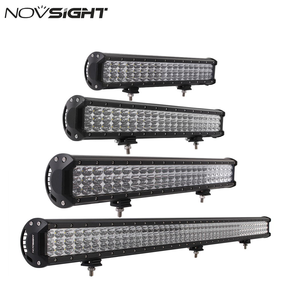 White 36 44 Tri-Row LED Light Bar Combo Beam Car Work Light Bar Lamp Offroad For JEEP SUV ATV 1pc Free Shipping видеоигра бука saints row iv re elected