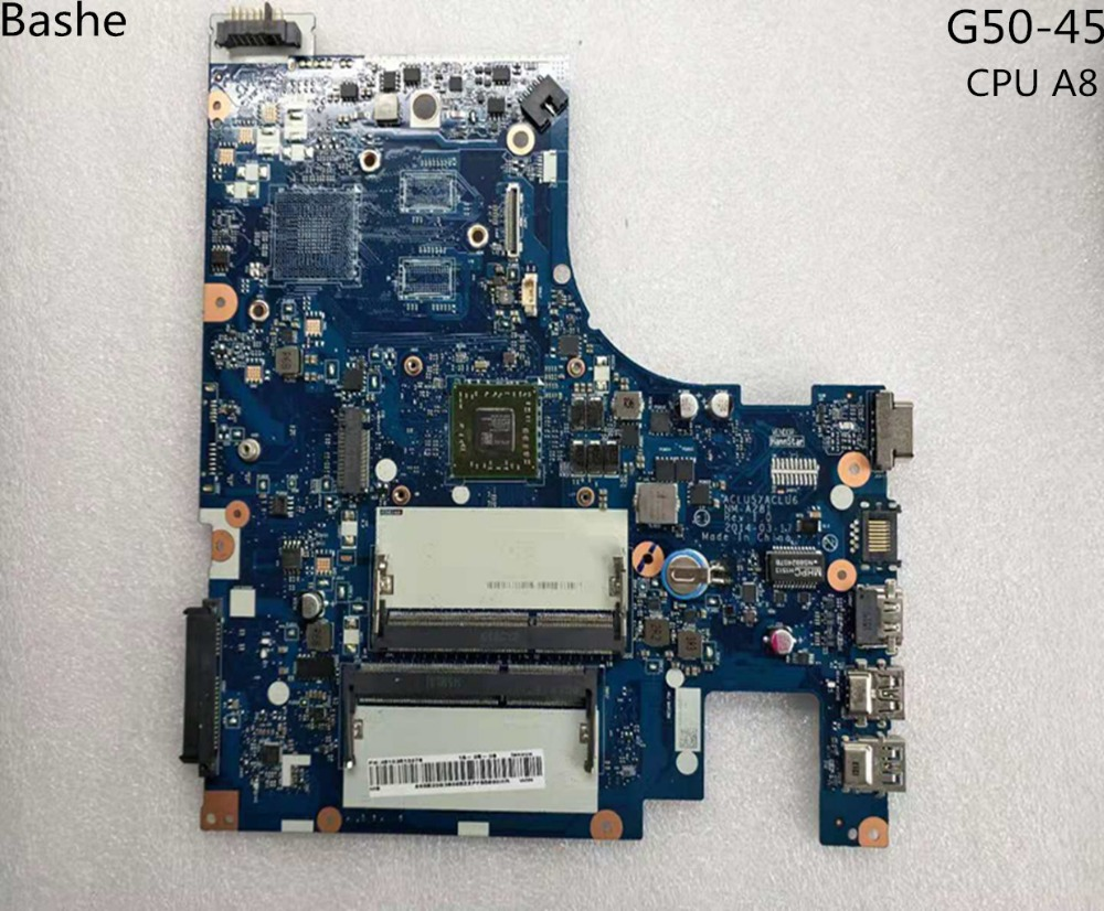 Base Plate For Lenovo Laptop Computer G50 - 45 Motherboard AMD  Am6410 A8 MB Aclu5 Aclu6 Nm To 15 Inches A281 Complete Tesed
