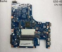 Plaque de Base pour Lenovo ordinateur portable G50-45 carte mère AMD am6410 A8 MB aclu5 aclu6 nm à 15 pouces a281 complet testé