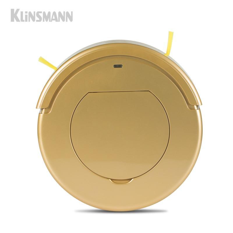 Klinsmann KRV205 Robot Vacuum Cleaner Dry Mopping Function Multifunction Side Brush For Home