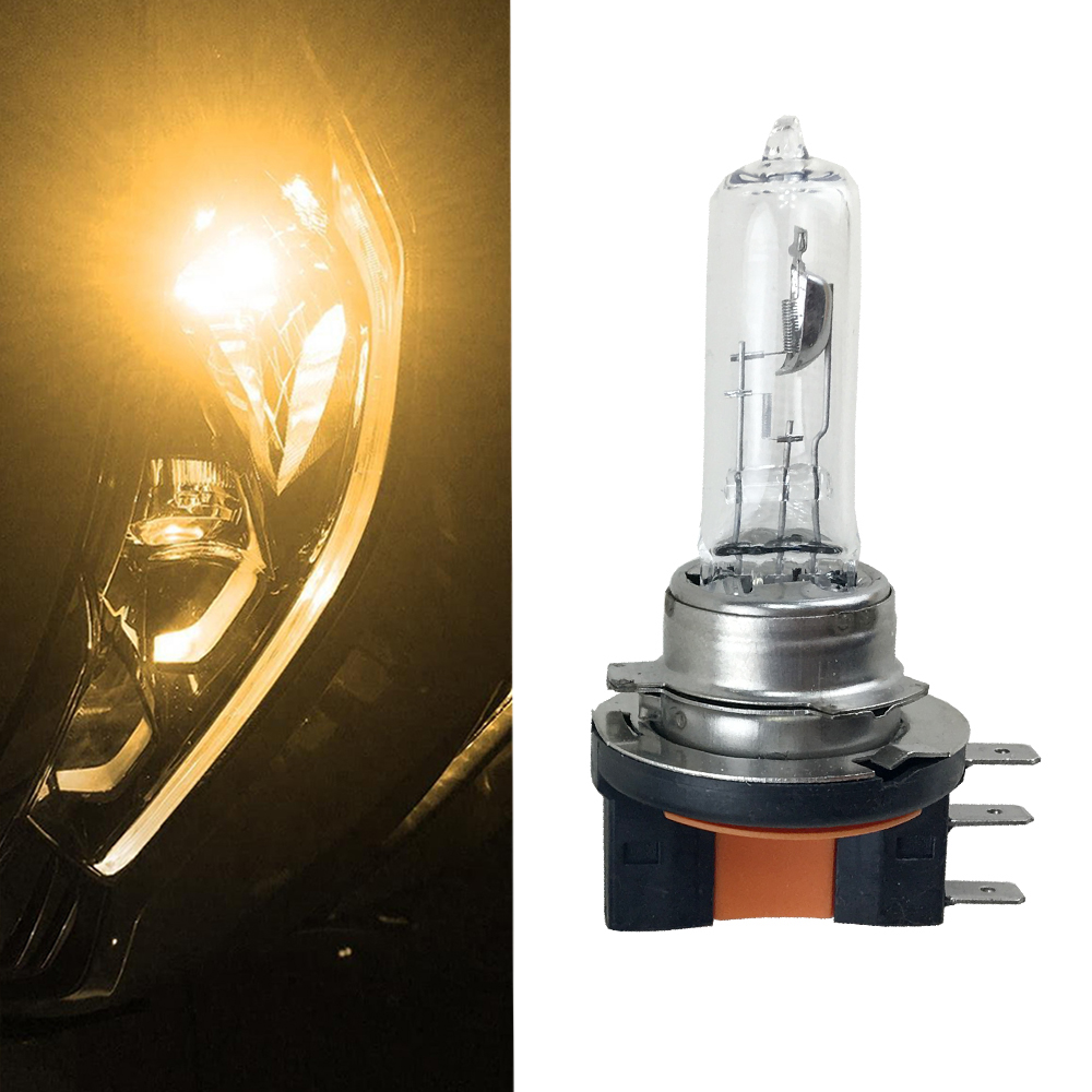 1x 12V 15/55W Canbus H15 64176 Halogen Lamp 4300K Yellow Clear Glass Auto Headlights Bulb Replacement Car Styling light sourcing
