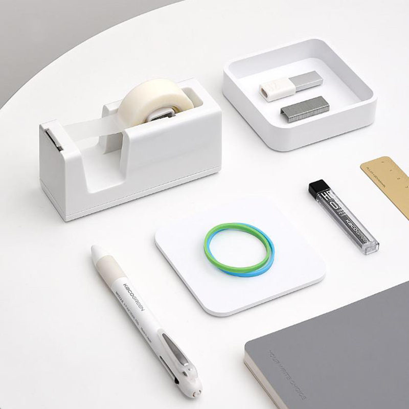 New-arrival-Xiaomi-Mijia-Kaco-LEMO-Tape-Dispenser-with-2-rolls-tapes-for-Office-School-Home (1)