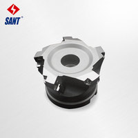 Indexable milling cutter High feed milling cutter insert SDMT1204 DM disc XK01