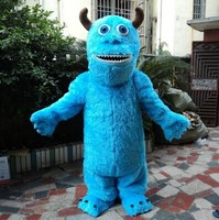 Ohlees Sully Mascot Costume Halloween Christmas Birthday Props animal Costumes fur Outfit Catoon character accept costomize