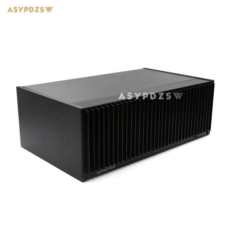Classic 99 CLONE QUAD405 Power amplifier aluminum chassis 350 123 214 AMP Enclosure Case With heat
