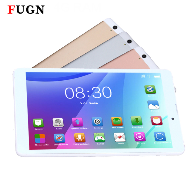 US $109 0 |FUGN C30 Android Octa Core 64bit MTK6592 IPS 1920x1200 2K Screen  Dual SIM WIFI HDMI Bluetooth GPS Multi Touch 8 inch Tablet PC-in Tablets