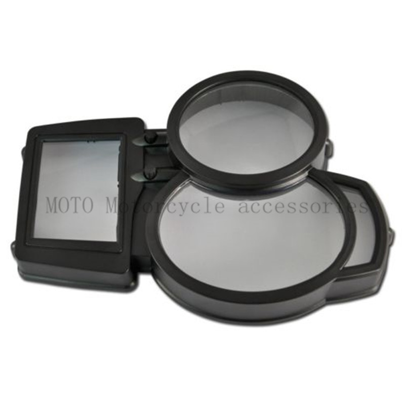 New Motorcycle Speedometer odometer Gauges Cover For BMW F800GS F800 GS Motor Gauges Cover Case Housing Speedometer ABS motorcycle gauges cover cose housing for suzuki inazuma gsx400 gk7ba 7ba gsx 400 speedometer tachometer odometer new