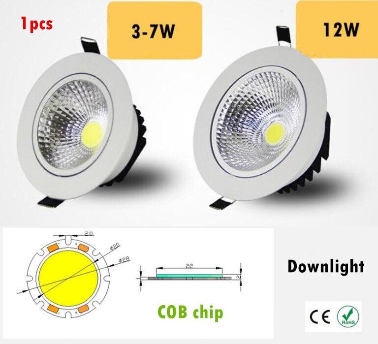Downlights lâmpadas de iluminação interior livre Tensão : 90-260v