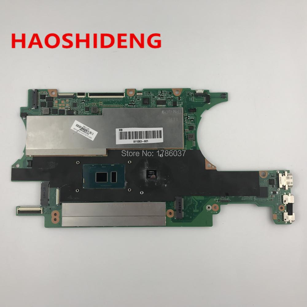 911083-601 DA0X32MBAG0 For HP SPECTRE X360 15-BL series Laptop Motherboard with i7-7500U CPU,All functions fully Tested!