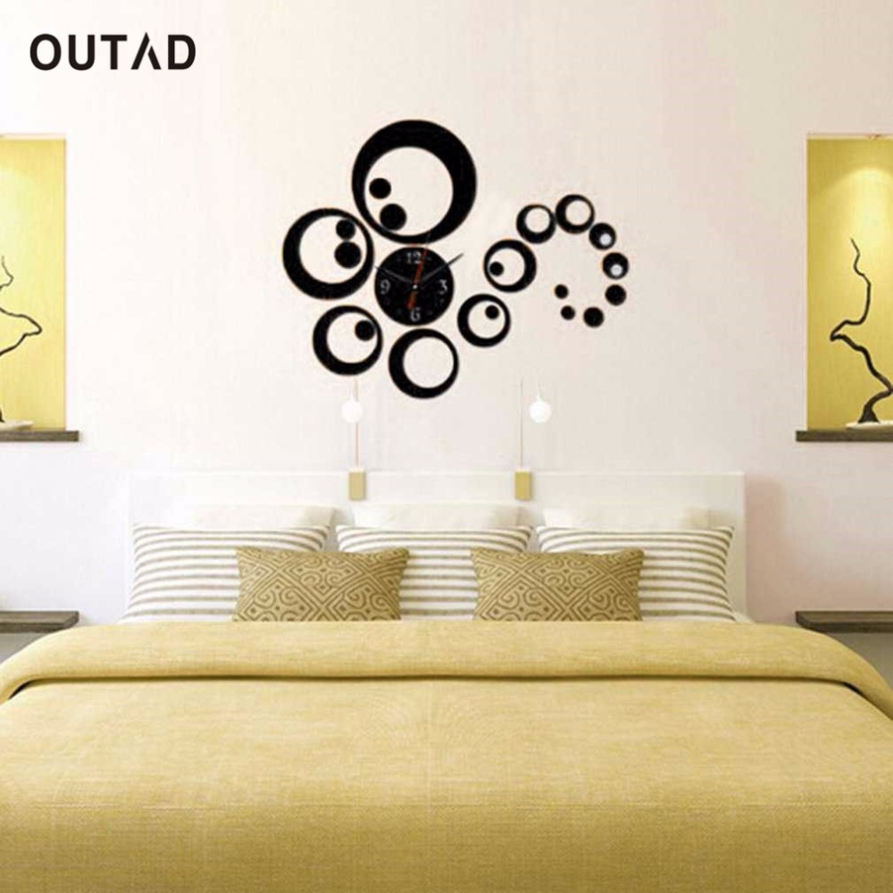 Amazing 3 Piece Mirror Wall Decor Ornament - The Wall Art ...