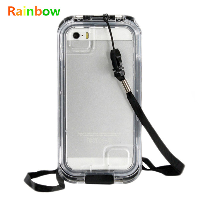 Top Quality For iPhone5/5S 5C 5G SE IPX-8 25ft Waterproof Shockproof Dirt Proof Cover Brand New Outdoor Swimming Protective Case
