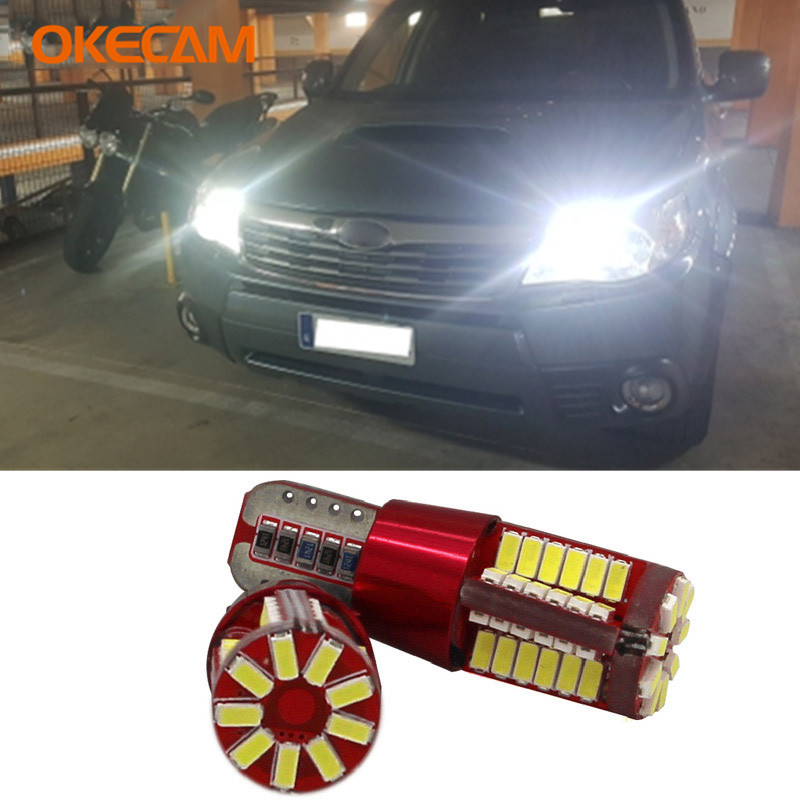 2x Canbus T10 W5W LED Car Parking Lights For <font><b>Subaru</b></font> Forester Impreza XV Legacy Outback <font><b>Sti</b></font> <font><b>Wrx</b></font> Brz Levorg SVX <font><b>WRX</b></font> Tribeca Justy image