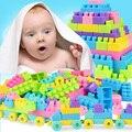 200 Unids Niño Bloques de Construcción de Las Partículas Grandes De Plástico Insertados Montan Bloques de Construcción de Figuras Bebé Juguetes educativos Kid Regalo