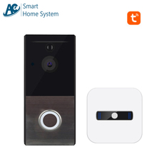 Tuya Supported Digital Video Calling Bell Smart Home Surveillance Wireless Door Camera Wifi Intercom Security System