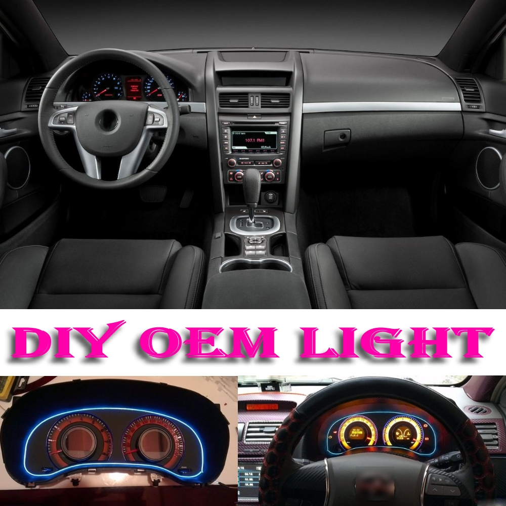 Car Atmosphere Light Flexible Neon El Wire Interior Pontiac G6 Wiring Decorative Decals Tags Inside Tuning For G8 In Signal Lamp From Automobiles