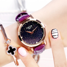 Watch women's fashion trend of the waterproof strap quartz watch casual lady brief