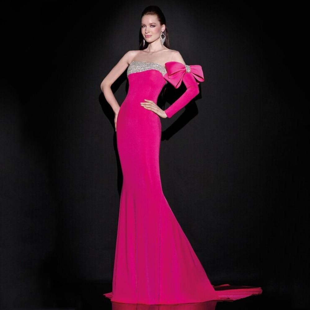 Único Vestidos De Rojo Y Negro Prom Sirena Modelo - Colección del ...
