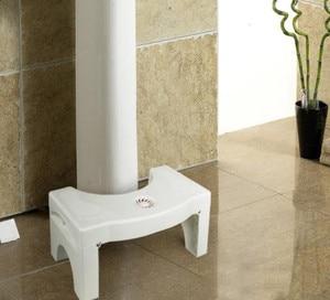 Image 4 - Bathroom Anti Constipation For Kids Foldable Plastic Footstool Squatting Stool Toilet