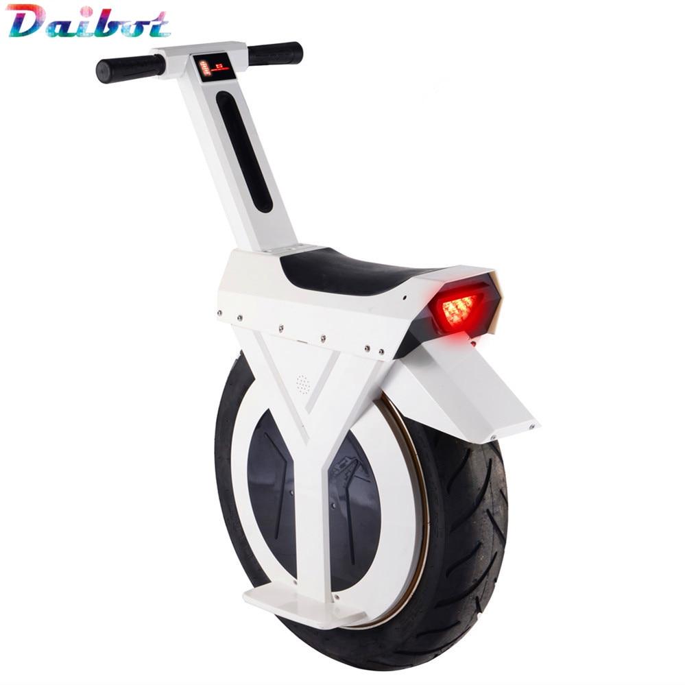 Nouveau Scooter électrique monocycle 500W moto hoverboard une roue scooter planche à roulettes monowheel vélo électrique grande roue