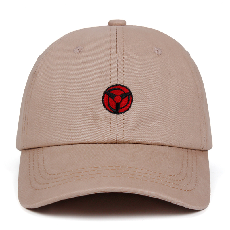 Uchiha Obito Kakashi Sharingan Dad Hat 100% Cotton   Baseball     Caps   Naruto Embroidery Snapback Hats Anime lovers dropship