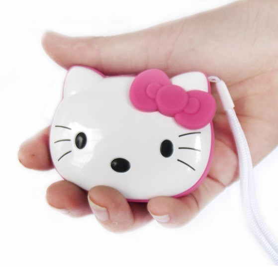 200pcs Hello Kitty mini portable cartoon speaker TF Card mp3 player with FM Radio best gift for kids with crystal box free DHL