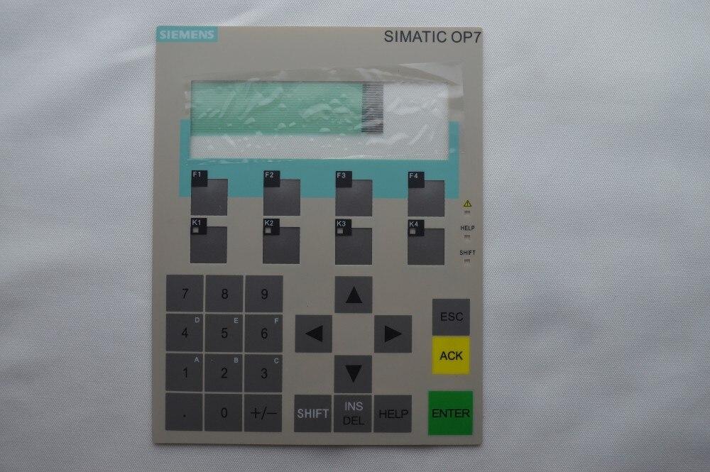 New Membrane keyboard 6AV3 607-5BB00-0AE0 for OP7 DP, hmi keypad , 6AV3607-5BB00-0AE0 simatic HMI keypad , IN STOCK 6av3607 5ca00 0ad0 for simatic hmi op7 keypad 6av3607 5ca00 0ad0 membrane switch simatic hmi keypad in stock