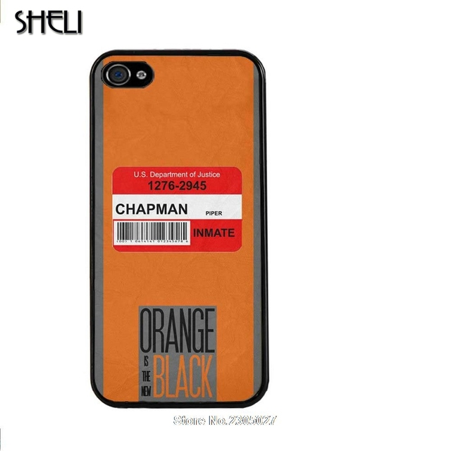 wholesale dealer 0e5c8 ce80e SHELI Orange Is The New Black cellphone Case Cover for iphone 5s 5c SE 6 6s  6plus 7 7plus Samsung galaxy s3 s4 s5 s6 s7 edge-in Fitted Cases from ...