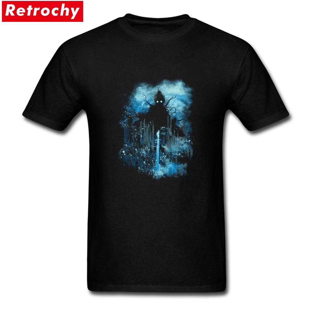Cthulu class 5 vs little hero Merchandise T-Shirt Short Sleeve Men Soft Cotton Plus Size Tees