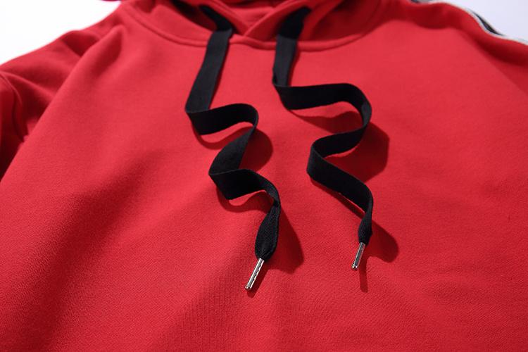 Ribbon Sleeve Hoodies 9