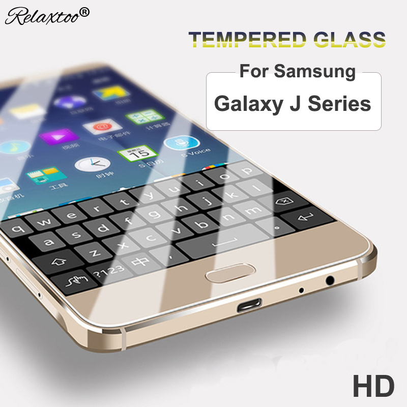 Tempered Glass Protector Case for samsung galaxy j7 2017 j1 j3 j5 j7 2016 ace Screen ful ...