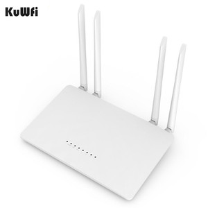 Image 5 - KuWfi 300Mbps Wireless Router 2.4G High Speed Home Wifi Router Wireless Repeater /AP With 4*5dBi&Antennas Support 32 Devices