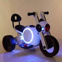 Children's Electric Motorcycle Child Tricycle Kids Ride on Car Motorbikes with Light 1 6Y Child Car Sit Person Ride Toy