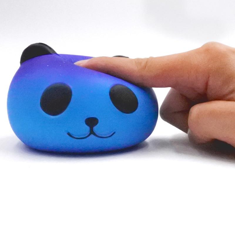 Squishy Panda Bread Squishy Slow Rising Xmas Decor Cute Jumbo Squeeze Stress Stretch Bread Kids Slime Toy Gift